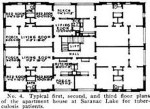 floor plan santanoni apts 1914
