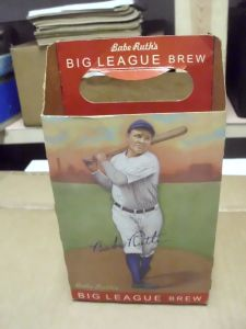 Helmar Brewing Babe Ruth beer carrier