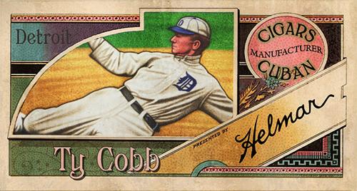 T206, Helmar, Ty Cobb