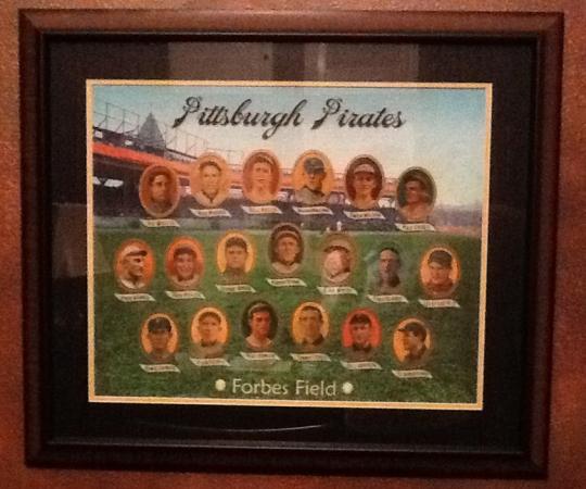 Helmar Pittsburgh Pirates display