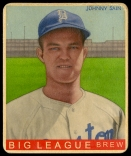 Johnny Sain, Boston Braves, Helmar-R319 #334