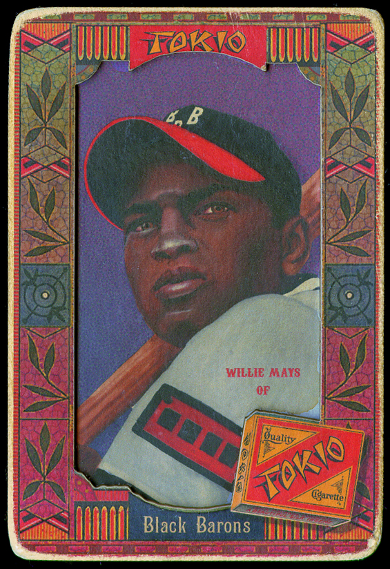 Willie Mays Oasis series baseball card.