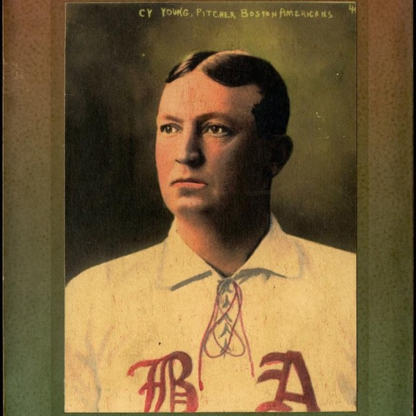 Cy Young Helmar card